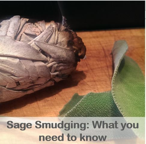What you need to know about smudging with sage