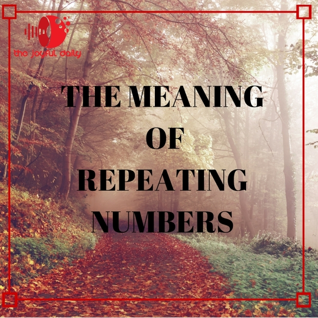 The Meaning of Repeating numbers instagram
